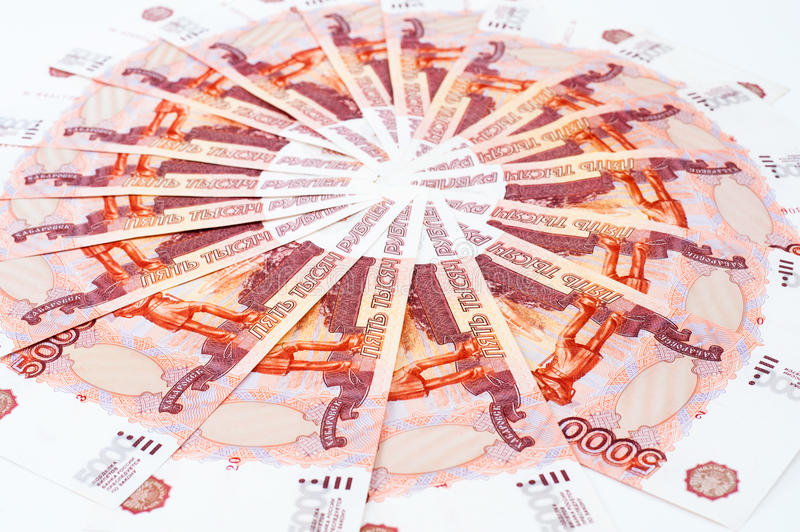 Download Russian paper money stock photo. Image of background - 23855752
