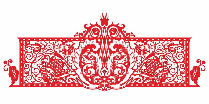 Vintage Ornament vector. Russian style ornament engraving border floral retro pattern. Foliage swirl decorative design element fil. Russian pattern. Vintage vector illustration