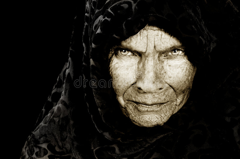 Russian Peasant Woman royalty free stock images