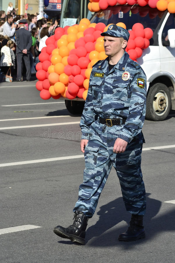 Download Russian police officers editorial stock image. Image of militia - 24884174