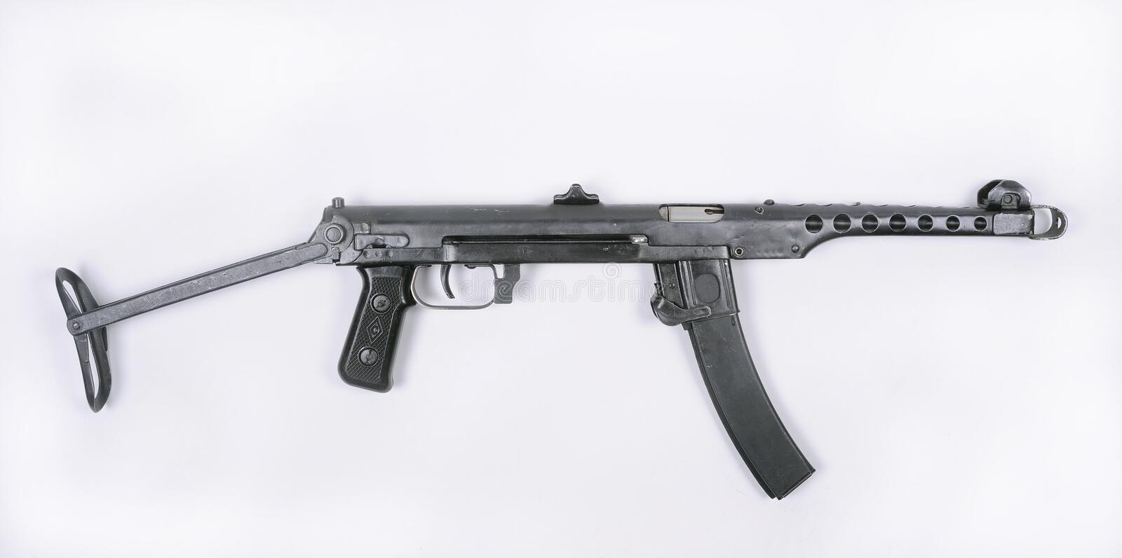 Download Russian PPS 1943 Machine Gun Stock Photo - Image: 24625078