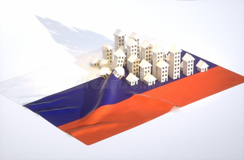 Download Russian Real-estate Development Stock Illustration - Illustration: 43431314