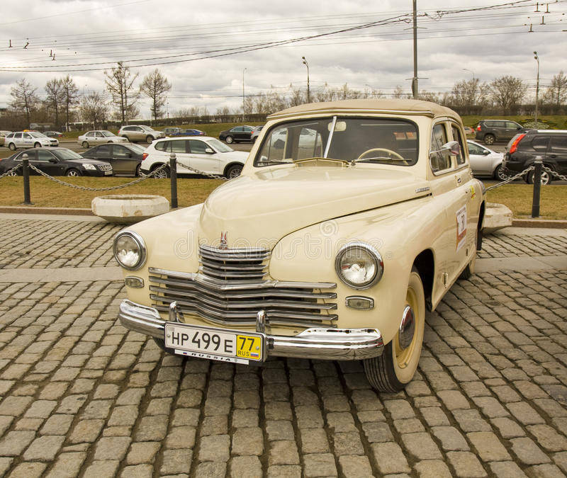 Download Russian retro car editorial stock image. Image of vehicle - 30764589