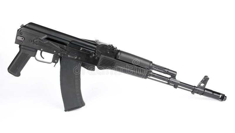 Russian rifle Kalashnikov ak74m royalty free stock photography