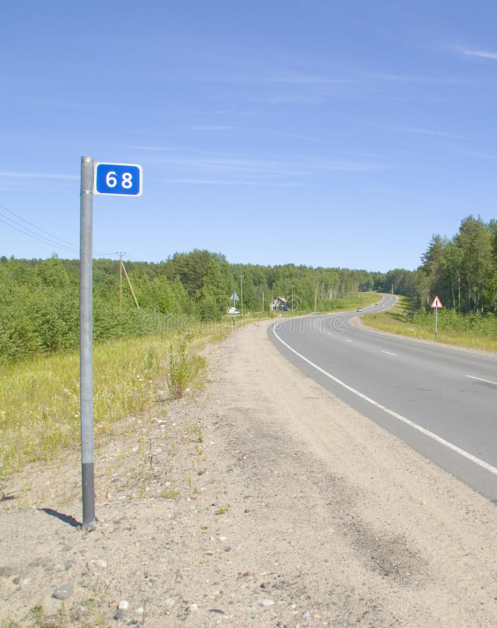 Download Russian Road Bends Stock Images - Image: 32370164