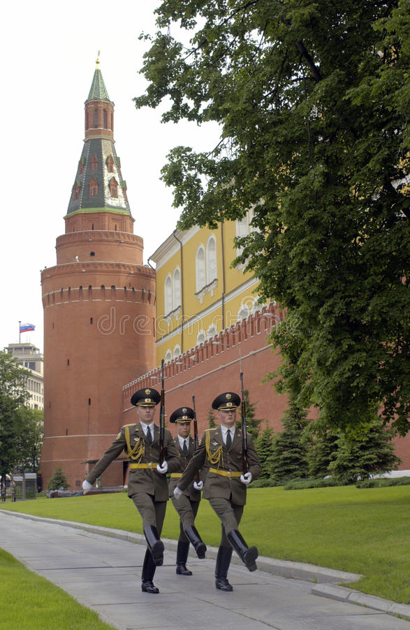 Russian Soldiers - Kremlin - Russia