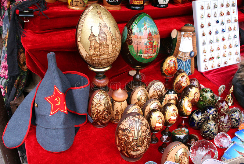 Download Russian souvenirs 2 stock image. Image of dolls, handicraft - 1321717