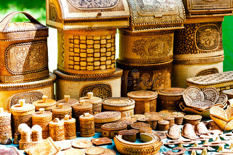 Download Russian souvenirs stock image. Image of customs, gold - 25640093