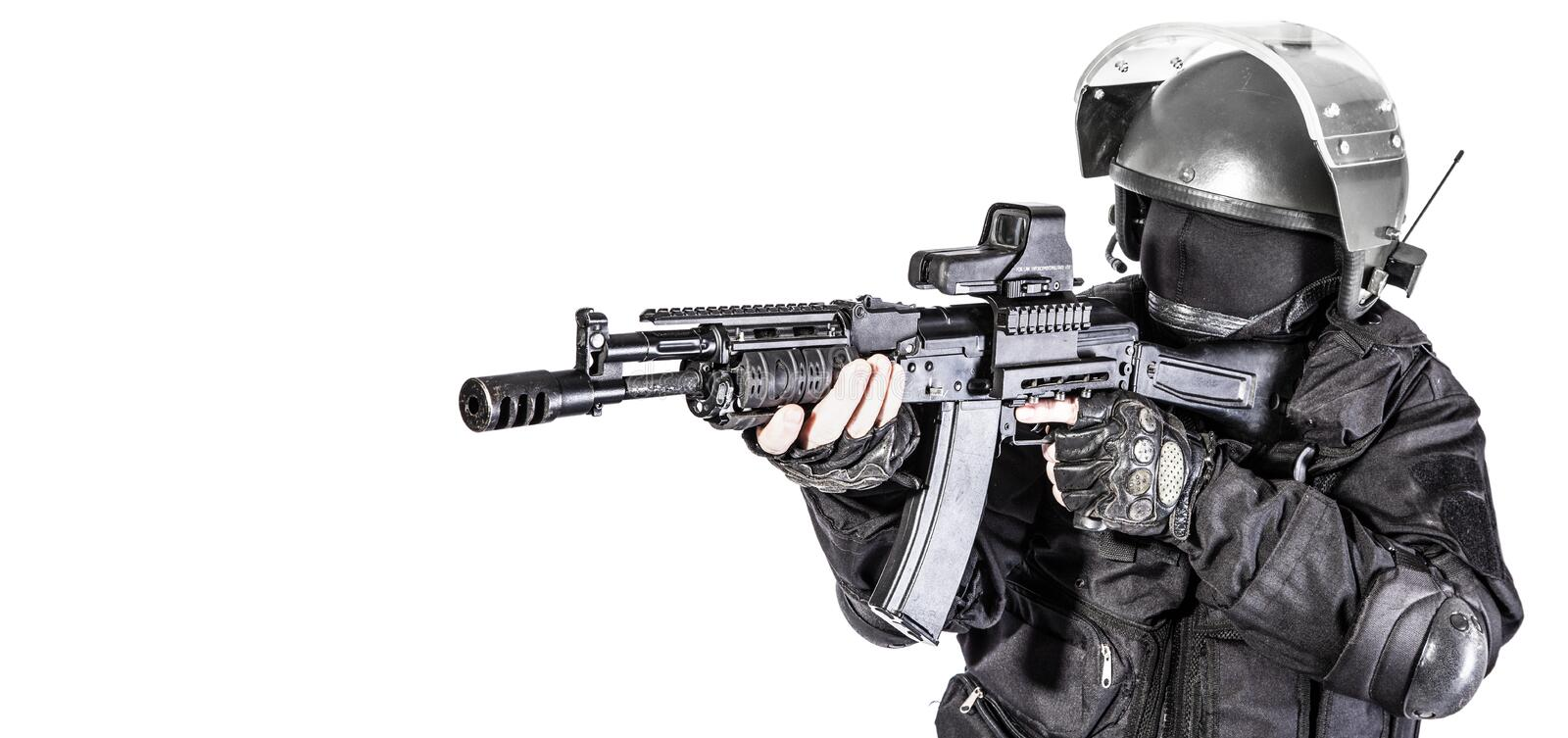 Russian special forces royalty free stock photography
