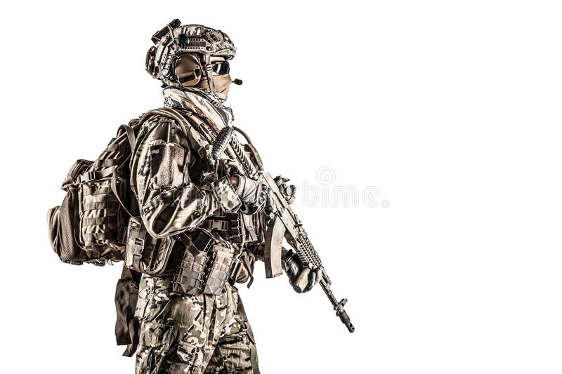 Russian special operations forces royalty free stock photos