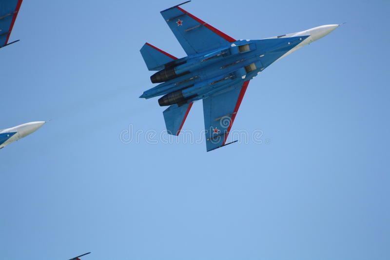 Download Russian Supersonic Fighter Su-27 Editorial Stock Image - Image: 26654019