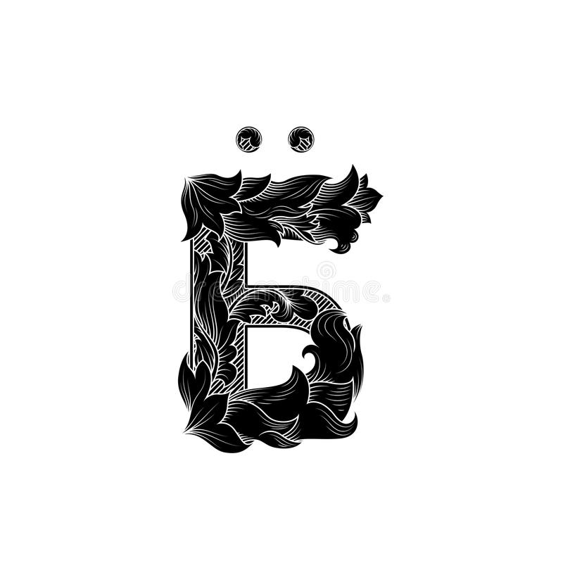 Russian swear letter. Vintage letter with intricate obscene meaning. Russian swear letter. Concept of joking content on white background. Vintage letter with vector illustration