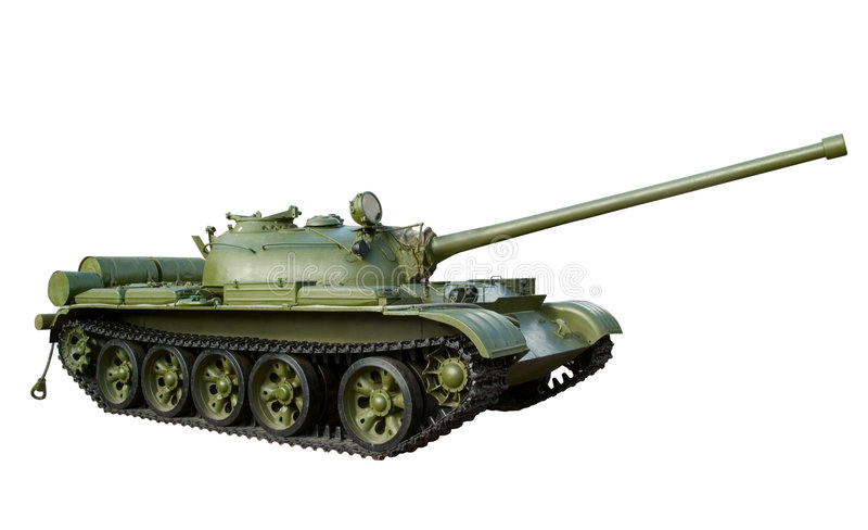 Russian tank stock photography