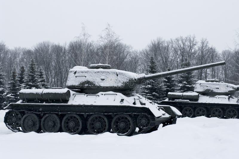 Russian  Tanks Royalty Free Stock Photos