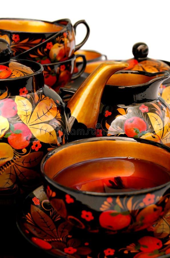 Download Russian Tea stock image. Image of ceramic, teatime, black - 3091765