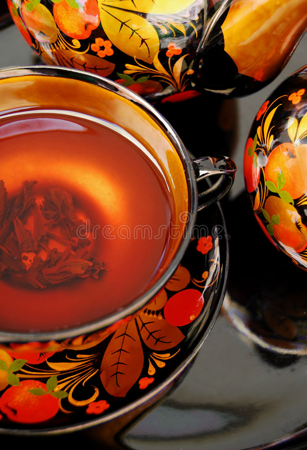Russian Tea royalty free stock photos