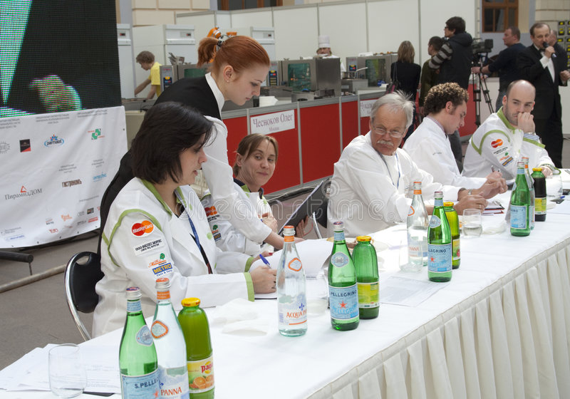 Download Russian Tour Of Bocuse D'Or - The Jury Editorial Photo - Image: 9068141
