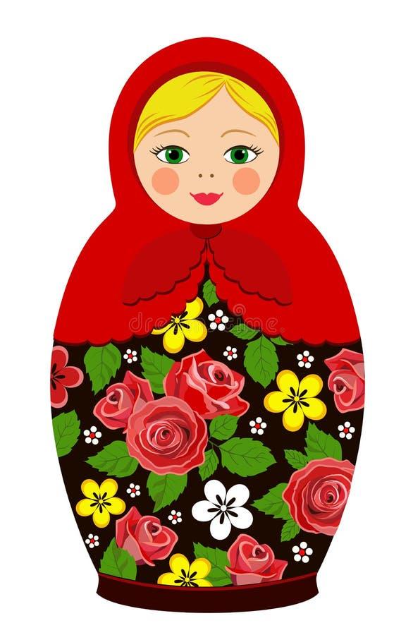 Russian Tradition Matryoshka Dolls Stock Photo Image