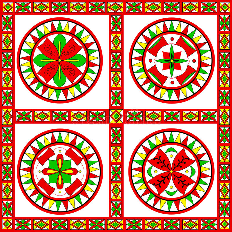 Download Russian Traditional Ornament Of Severodvinsk Regio Stock Vector - Image: 37784023