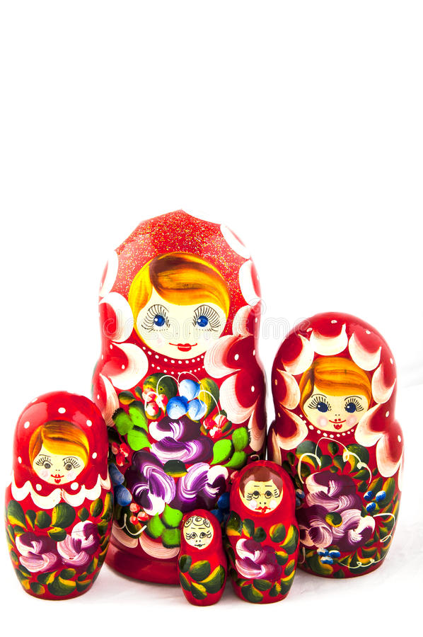 Russian traditional toys royalty free stock photos