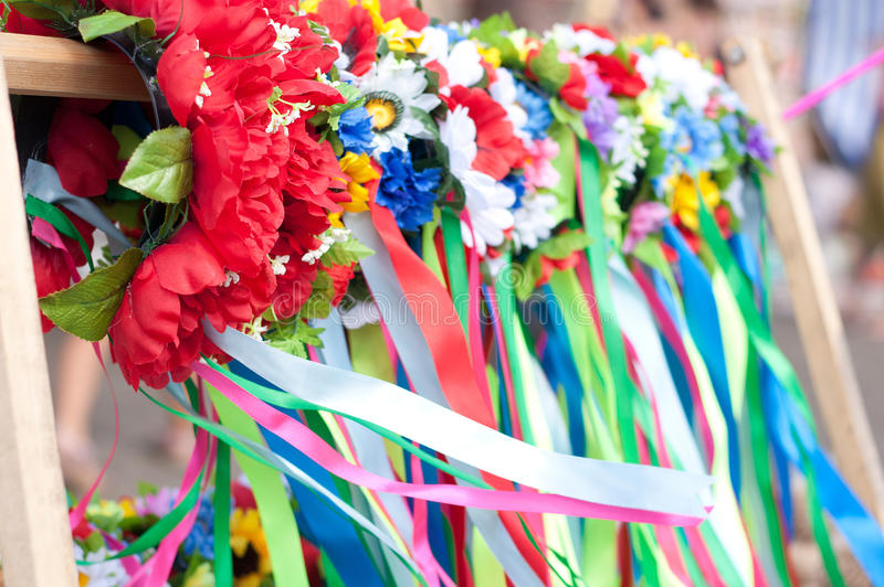 Russian (Ukrainian) Wreath Royalty Free Stock Photography