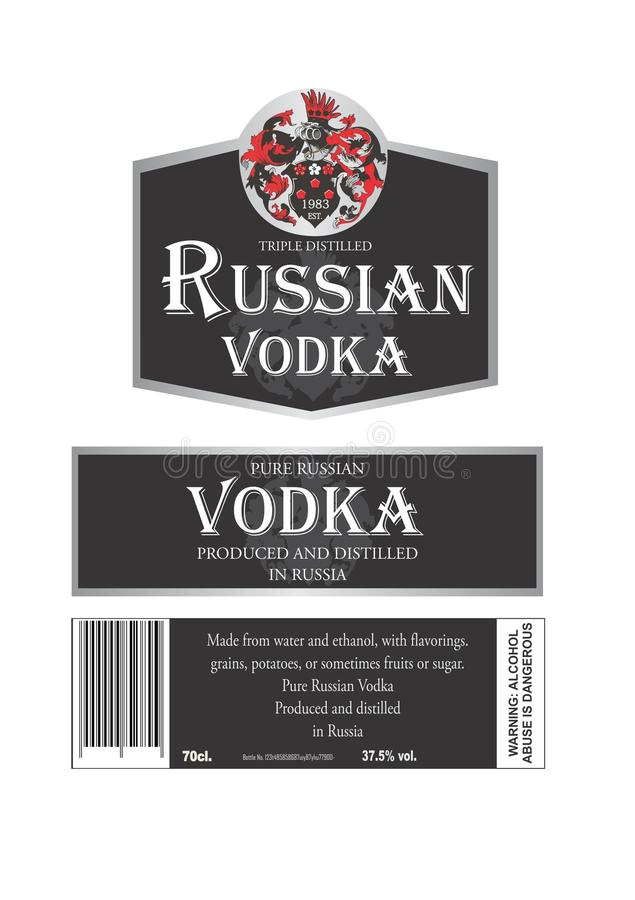Free Russian Vodka Stock Photos - 51182743