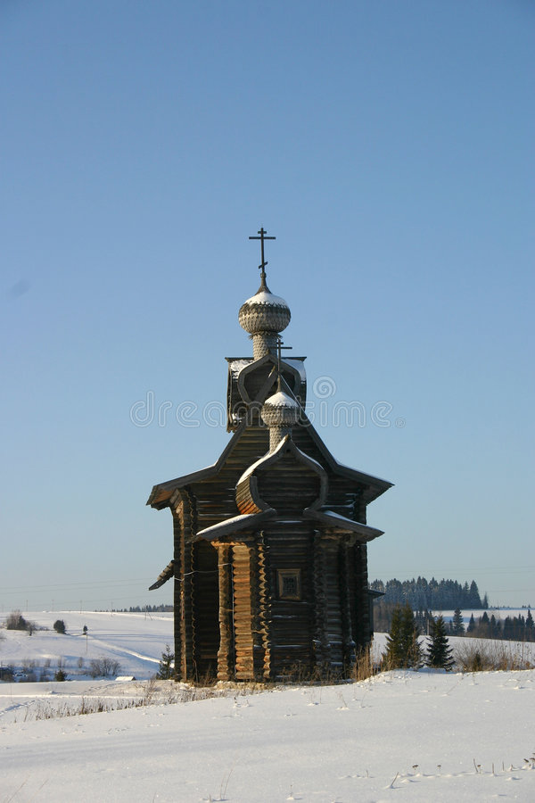 Download A Russian winter stock image. Image of church, snow, winter - 443301