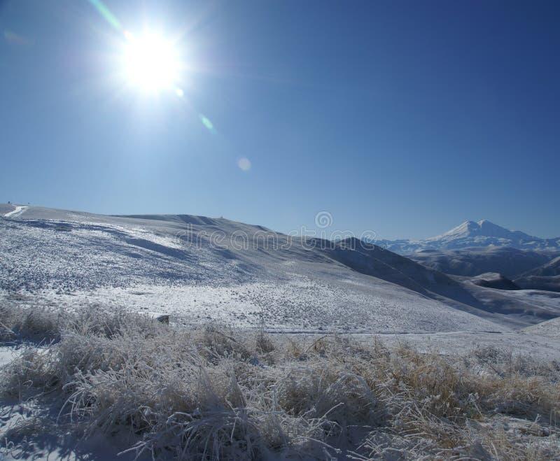 Russian winter stock image