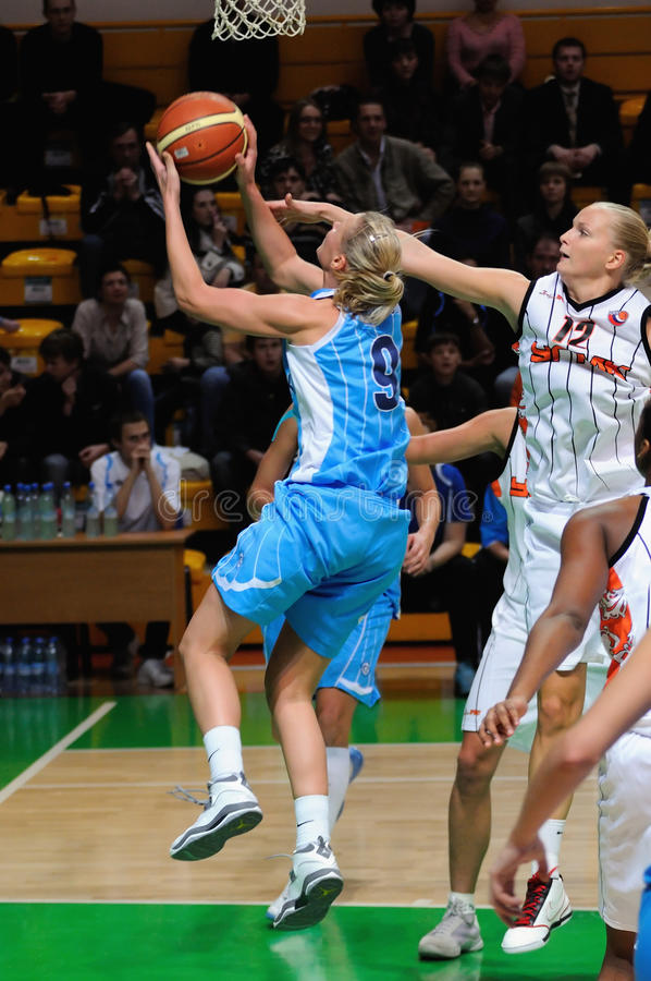 Free Russian Women Basketball 2009 Royalty Free Stock Images - 11688679