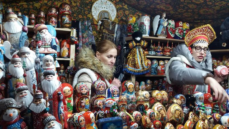 Russian culture in Switzerland royalty free stock photography
