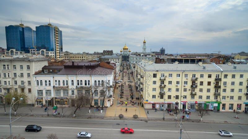 Russie Rostov-On-Don Cathédrale de ruelle photographie stock