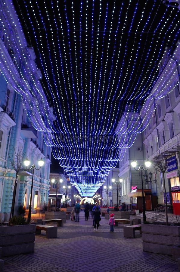 Russie Rostov-On-Don Cathédrale de ruelle images stock