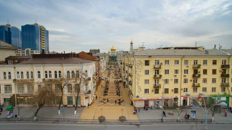 Russie Rostov-On-Don Cathédrale de ruelle photo stock