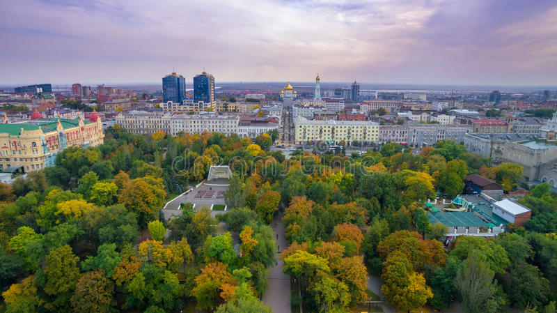 Russie Rostov-On-Don Parc de Gorki photographie stock