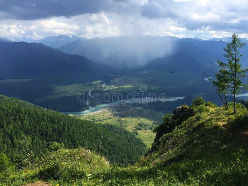 Russie siberia Altai Krai Montagne photos libres de droits