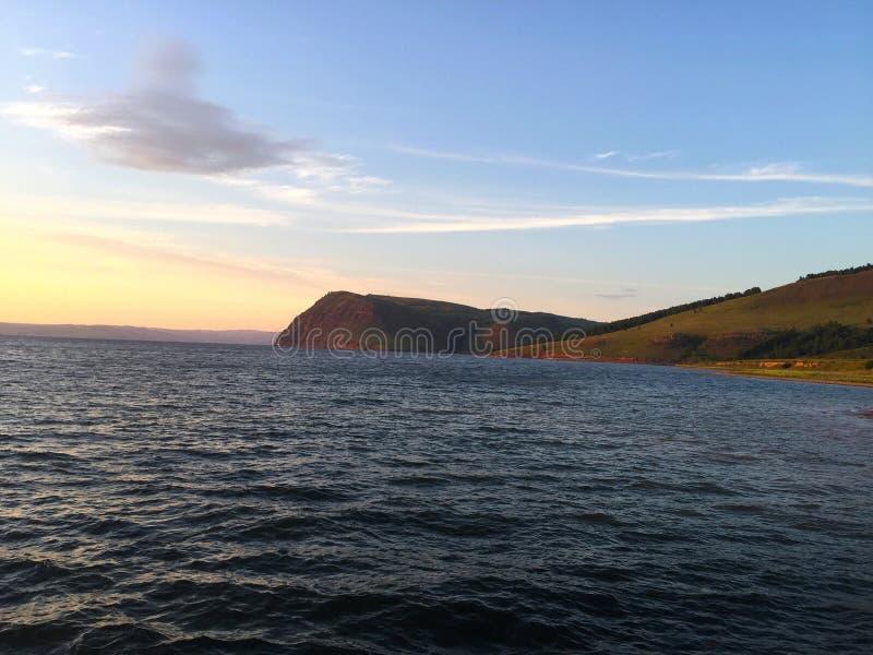 Russie siberia Mer de Krasnoïarsk Été photographie stock