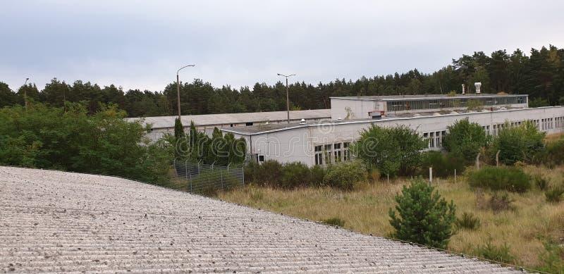 Russisch-deutsche Gebäude stockfotografie