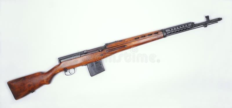 Russisch geweer SVT M1940 royalty-vrije stock afbeeldingen
