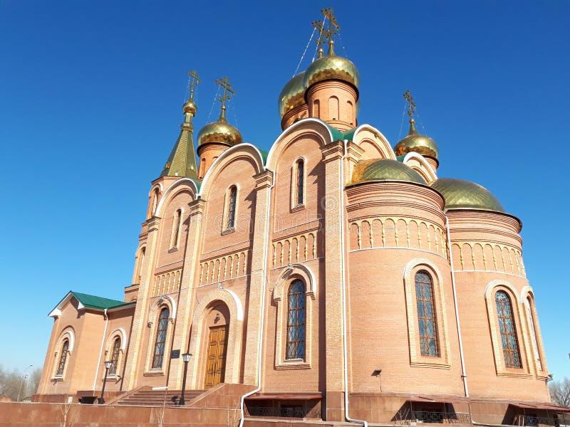 Russisch-Orthodoxe Kirche lizenzfreie stockfotos