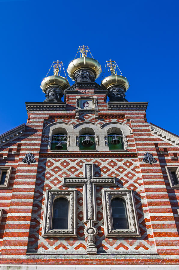 Russisch-Orthodoxe Kirche lizenzfreies stockfoto