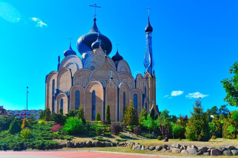 Russisch-Orthodoxe Kirche stockfotos