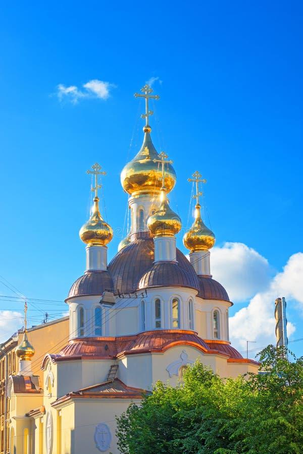 Download Russisch-Orthodoxe Kirche stockbild. Bild von heilig - 96927005