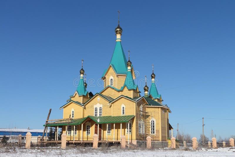 Russisch-Orthodoxe Kirche der Geburt Christi lizenzfreie stockfotografie