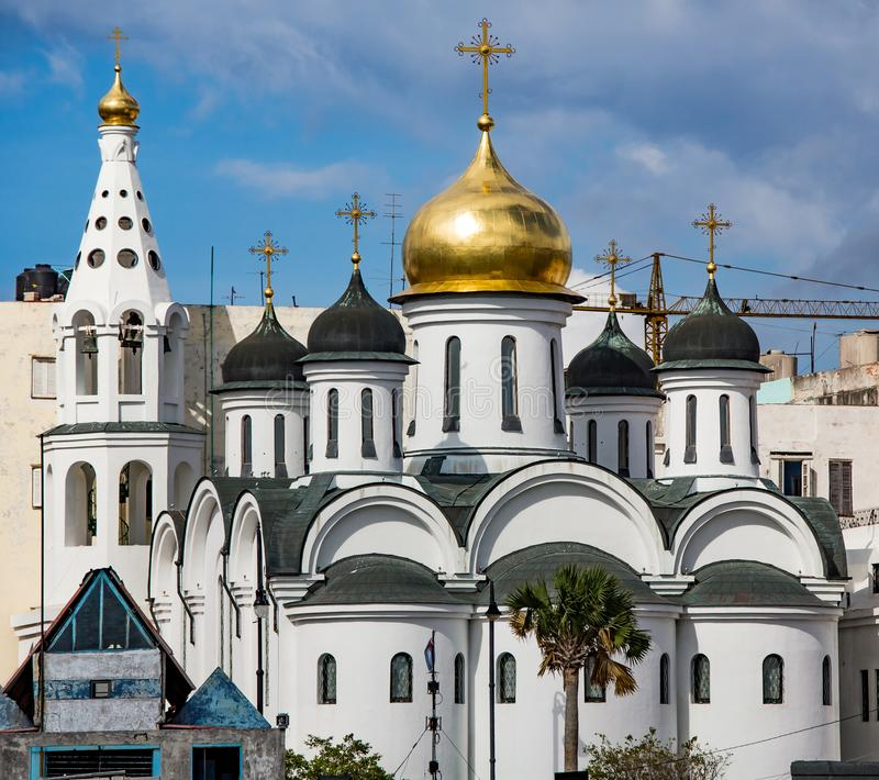 Russisch-Orthodoxe Kirche in Havana Cuba lizenzfreie stockfotos