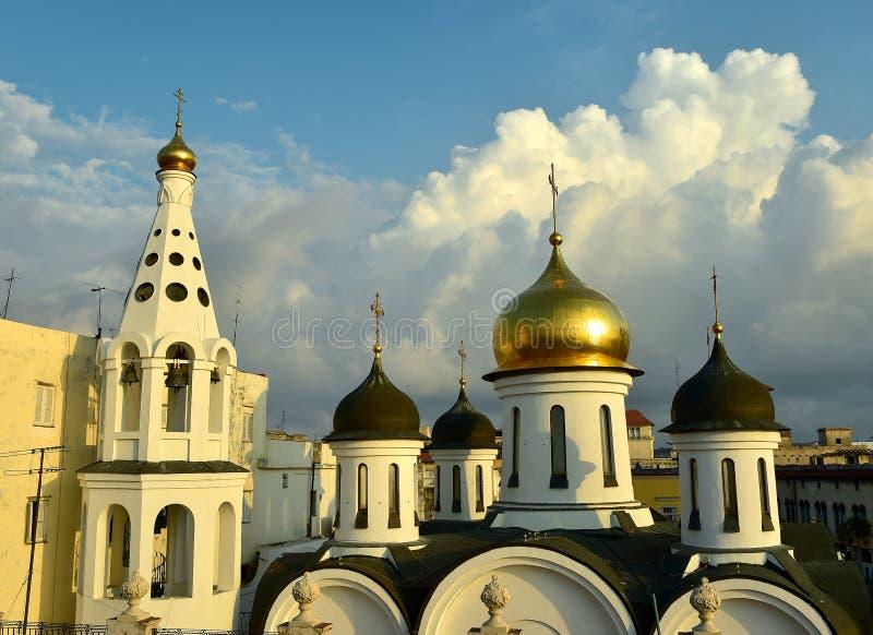 Russisch-Orthodoxe Kirche in Havana Cuba lizenzfreie stockbilder
