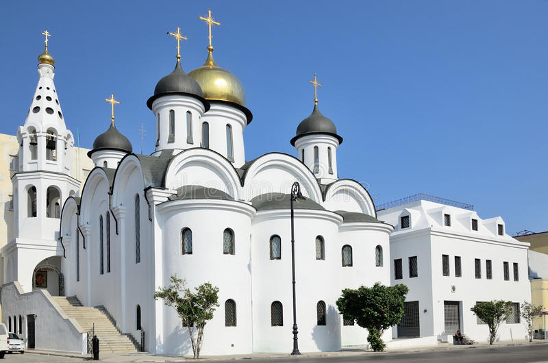 Russisch-Orthodoxe Kirche in Havana, Kuba stockfoto