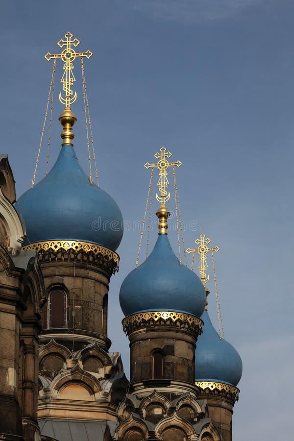 Russisch-Orthodoxe Kirche weihte Heiligem Simeon in Dresden, GE ein lizenzfreies stockbild