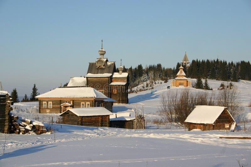 Russisch platteland royalty-vrije stock fotografie