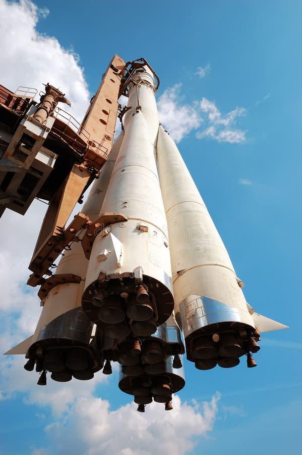 Russisch ruimteschip stock afbeelding