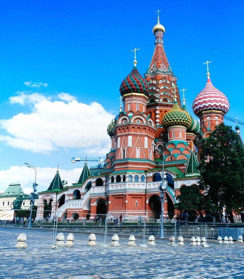 Russisch Vaderland - St Basil Cathedral 1 stock fotografie